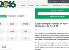 US Presidential Election: Jill Stein is Raising Funds to Ask for Election Recounts in Battleground States