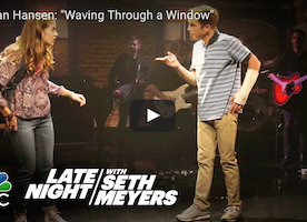 The New Broadway Show, Dear Evan Hansen, Shined Last Night on Late Night with Seth Meyers