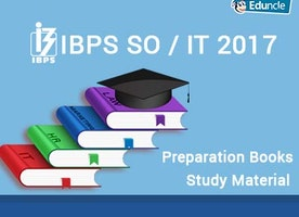 IBPS SO / IT 2017 Preparation Books | Study Material