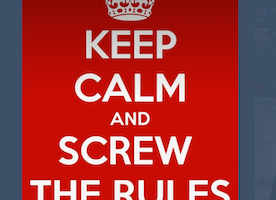 The Ludicrousness Of Following The Rules