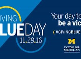 Giving Blueday: U-M encourages community to give back
