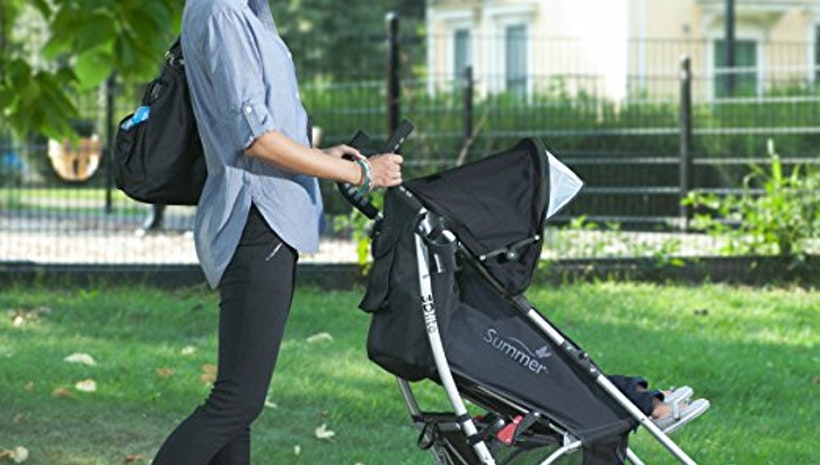 The benefits of double stroller.