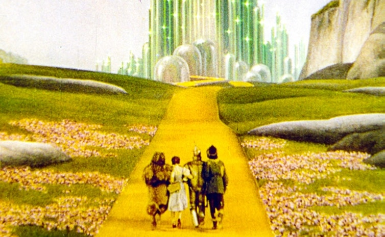 If you're looking for me, I'll be in the land of Oz