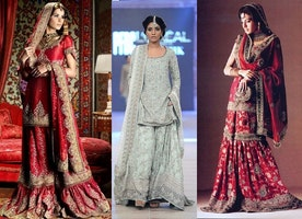 Puzzled brides: What to Wear Indo-Western Sharara or Lehenga?