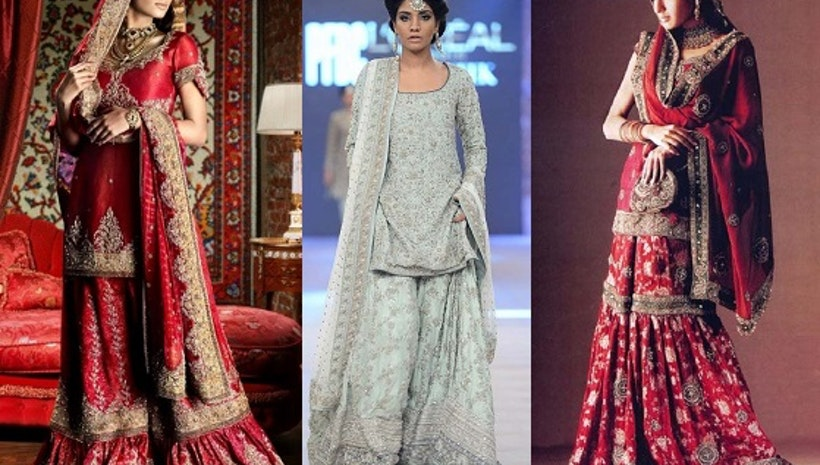 Puzzled brides: What to Wear Indo-Western Sharara or Lehenga? - Mogul