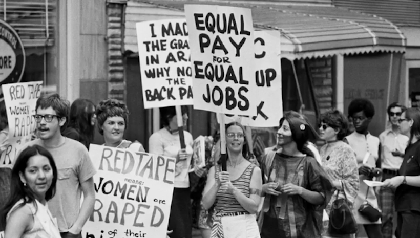 the history and goal of feminism and the battle for equality in america Women's liberation movement movement with goal of achieving greater economic and social equality reasons for the movement: dissatisfaction with the status quo influence of great leadership betty friedan, gloria steinem the fight for equality: feminism, chicanos and aim achievements of the.