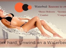 Work hard, Unwind on a Waterbed !!