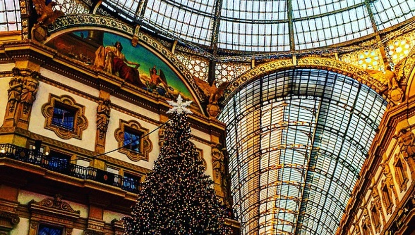 Who doesn't fall for love...when in Milan?