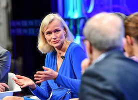 """Carla Kriwet Chief Business Leader of Connected Care at Philips discusses """"Curing the Incurable"""" with global health leaders"""