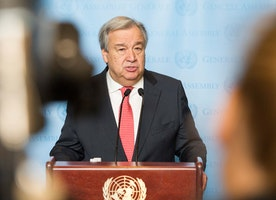 New UN Head Antonio Guterres Pledges Gender Equality