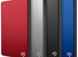 External Hard Drives with Cloud Storage & Backup Options
