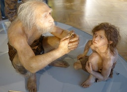 'William:'  Human/Neanderthal  Frankenstein Meets Snow Plow Co-Parents