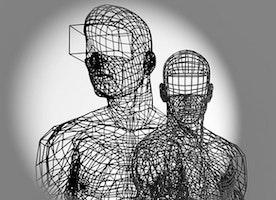 Half-Solid, Half-Shadow: Moto Waganari 3D Prints Wireframe Sculptures