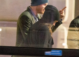First pictures of Prince Harry and girlfriend Meghan Markle together