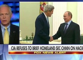 Sen. Johnson: 'I'm Sure Putin Is Shaking in His Boots' Over Obama's Warning