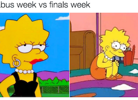 24 Struggles with Finals