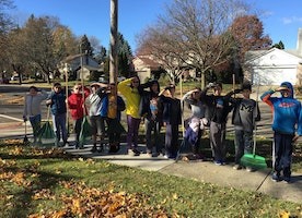 Their turn to serve: Fifth-graders do good deeds for war veterans