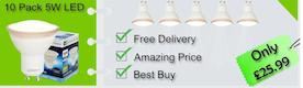 G9 LEDS Light Bulbs for the Stunning Effect
