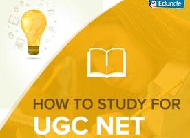 How to study for UGC NET Exam January 2017?