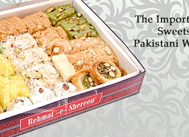 The Importance Of Sweets In Pakistani Weddings