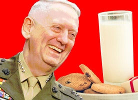 How Mad Dog Mattis Got His Christmas Cookies