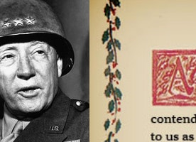 """""""Christmas Card"""" Gen. Patton Gave His Men May Be Manliest Card Ever Created"""