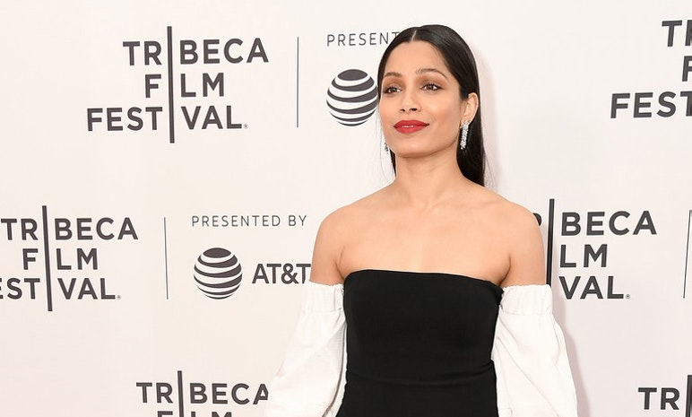 """Actress Frieda Pinto Attends the Film """"Only"""" Premieres at the 2019 Tribeca Film Festival"""