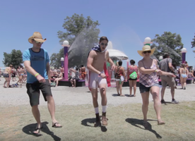 This guy recorded himself dancing with 100 strangers on his road trip 😀❤️