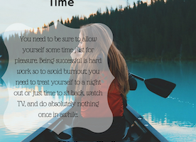 Provide Yourself Time