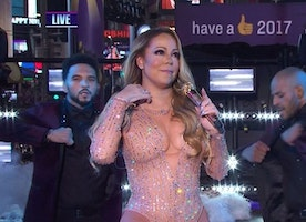 Four Short and Sweet Lessons From Mariah Carey's New Year's Eve Performance