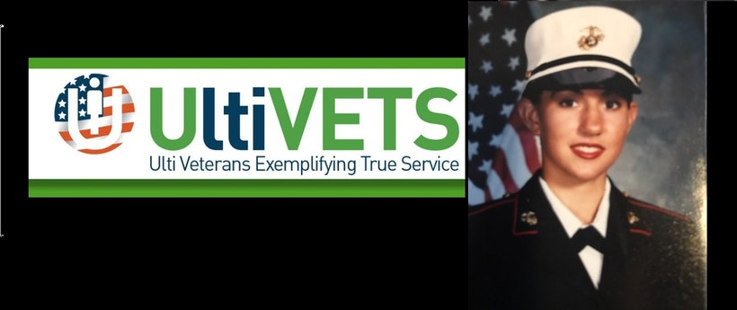Shout-out to one of our Ultimate Veterans, Tiffany!