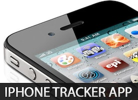 Be safe with iPhone tracker app
