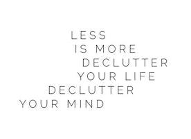 De Clutter January