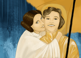 A tribute to Debbie Reynolds and Carrie Fisher, the mother and daughter who changed the galaxy
