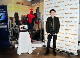 Tom Holland, 'Spider-Man: Homecoming' at CES 2017 #DellExperience