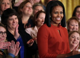 In Tearful Finale, Michelle Obama Says, 'I Hope I've Made You Proud'