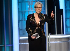 At the Golden Globes, a New Culture War Erupts Onstage