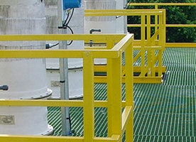 Sustain and Clean FRP Handrails for Longevity