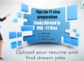 Useful tips for F1 visa preparation | Study Abroad | OPTNation
