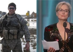 PHOTO: Wounded Warrior Slaps Down Meryl Streep... Posts 1 Pic That DESTROYS Her