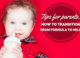 Dr. Mom Tip: Weaning From Formula to Whole Milk