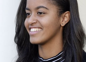 Malia Obama will be right down the street from us next year
