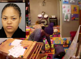 Video catches nanny burning Long Island boy, 2, with curling iron