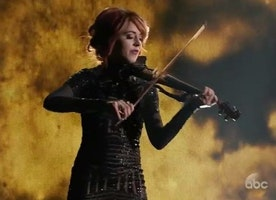 Lindsey Stirling: A Goddess Among Harpies.