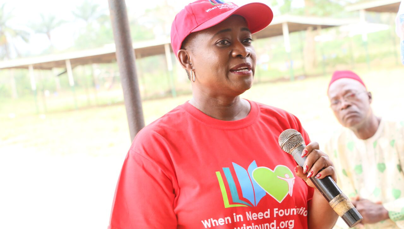 Chetachi Ecton, the CEO & Founder on Her Mission for the When In Need Foundation