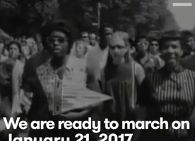 Are you ready for the Women's March? This video will get you excited! #IWillMarch