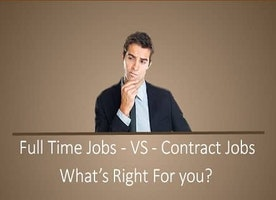 Pros And Cons Of Full-Time And Contract Jobs On H1B Visa