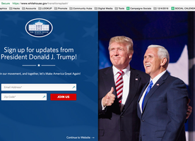 Trump's Administration Took Down At Least 5 Important Pages On The WhiteHouse.Gov Site