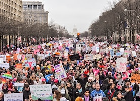 Women's March in 17 Signs - DC Edition