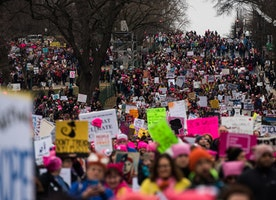 Pictures From Women's Marches Around the United States and the World